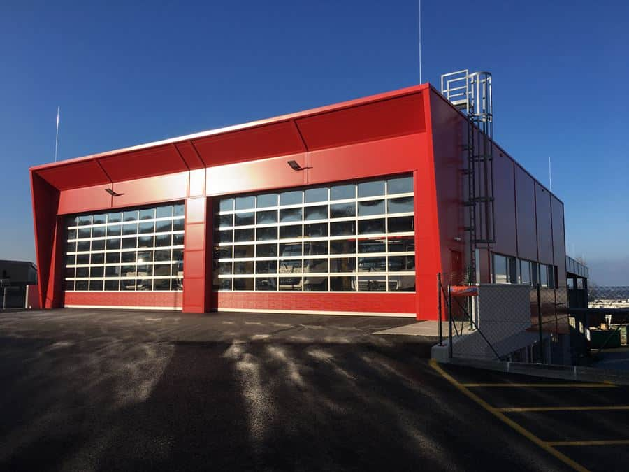DHF - Kässbohrer Eugendorf - Industriesektionaltore Betriebshalle
