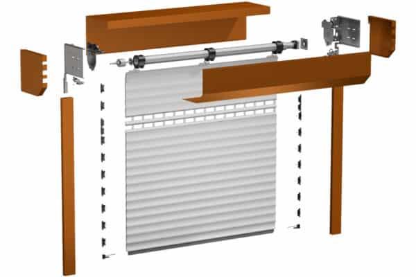 Aktion Garagenrolltor - Konstruktion