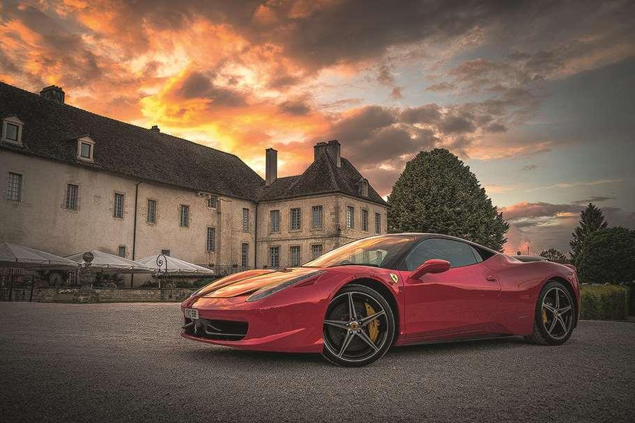 Garagentor Motiv Digitaldruck - Ferrari