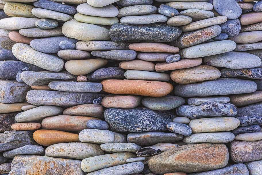 Garagentor Motiv Digitaldruck - Steine