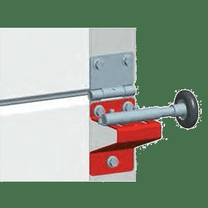 Industriebeschlag auf jeder Torsektion | Garagentor-Aktion 2019