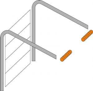 Niedrigsturzumlenkung Torsionsfedern-System | Garagentor CLASSIC