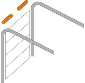 Standardumlenkung Torsionsfedern-System | GaragentorCLASSIC