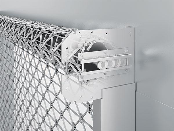 Rollgitter RG70 | Anrollsystem