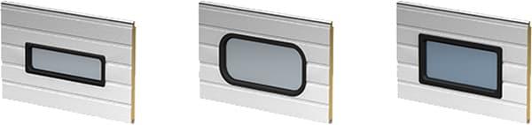 Eingeschnittene Sicht-Fenster | Industrie Sektionaltor