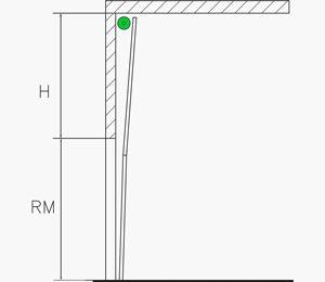 Hubtor mit oben liegender Federwelle | Industrie Sektionaltore