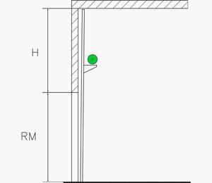Hubtor mit unten liegender Federwelle | Industrie Sektionaltore