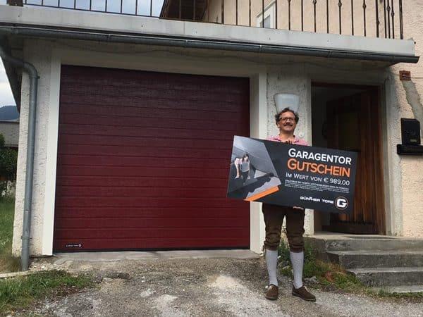 Garagentor Gewinn - Rot Kreuz Ball 2019 Flachau