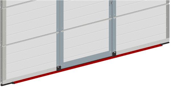 Schlupftür mit Flachschwelle - neue Konstruktion