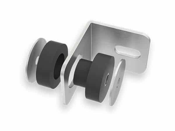Tiefgaragentor TG104visual Schall-Entkopplung