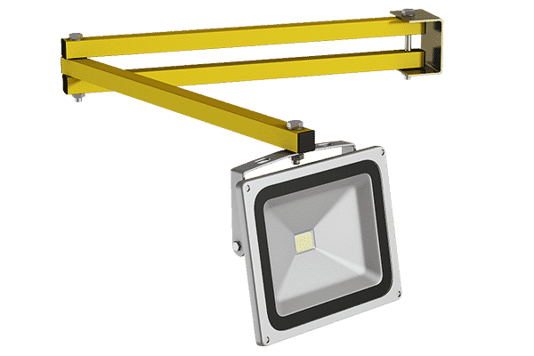 LED-Eckladenleuchte für Verladerampen